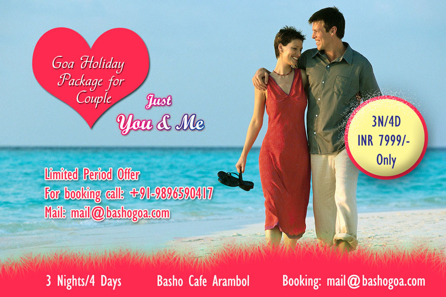 goa holiday couple package