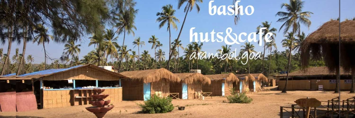 basho huts and cafe arambol